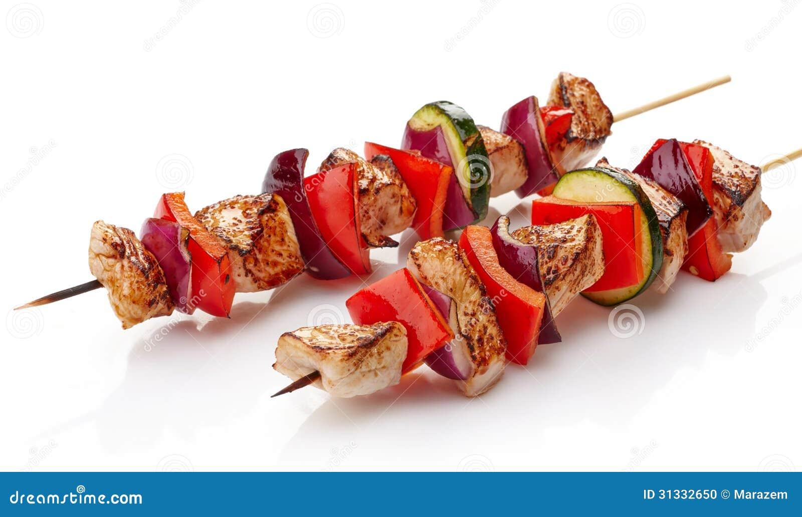 Piec na grillu wieprzowina polędwicowa i warzywa