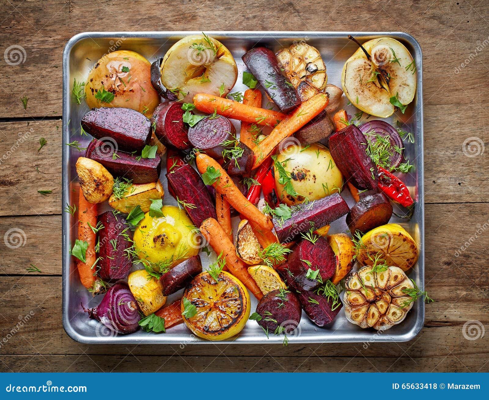 Piec owoc i warzywo