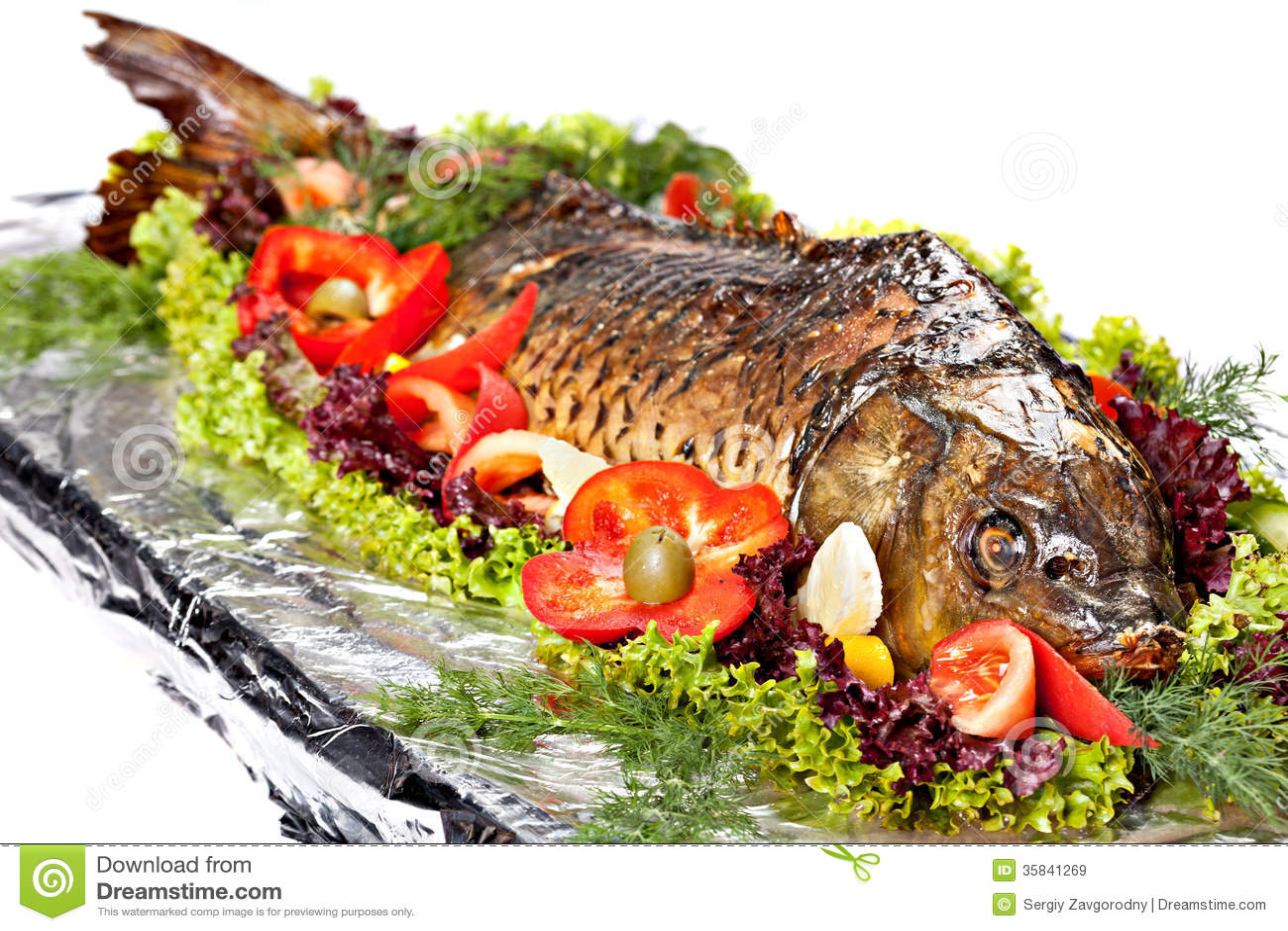 Piec ryba