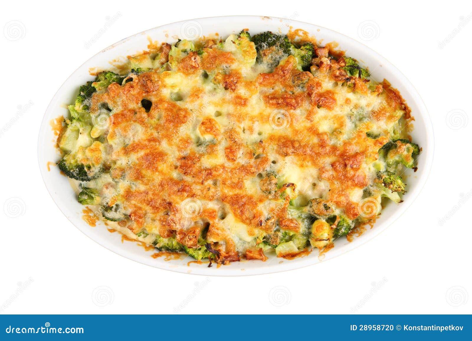 Piec ser z brokułami