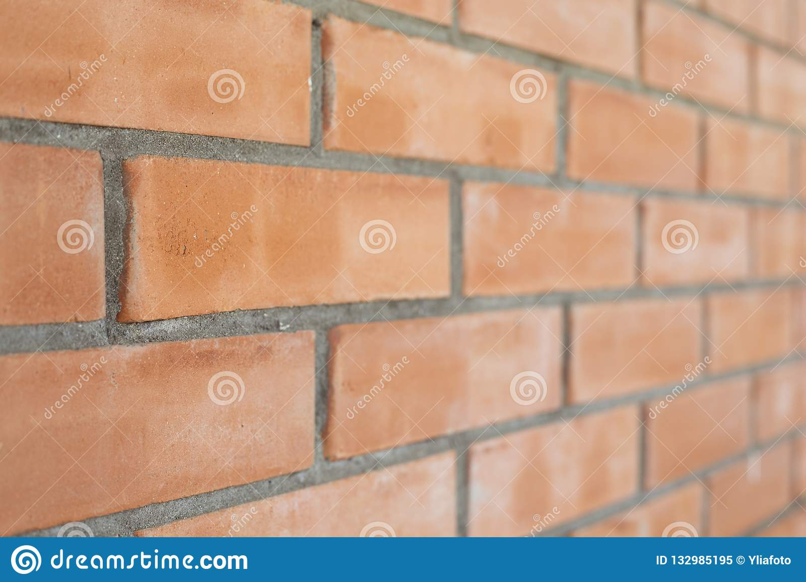 Piece of a brick wall