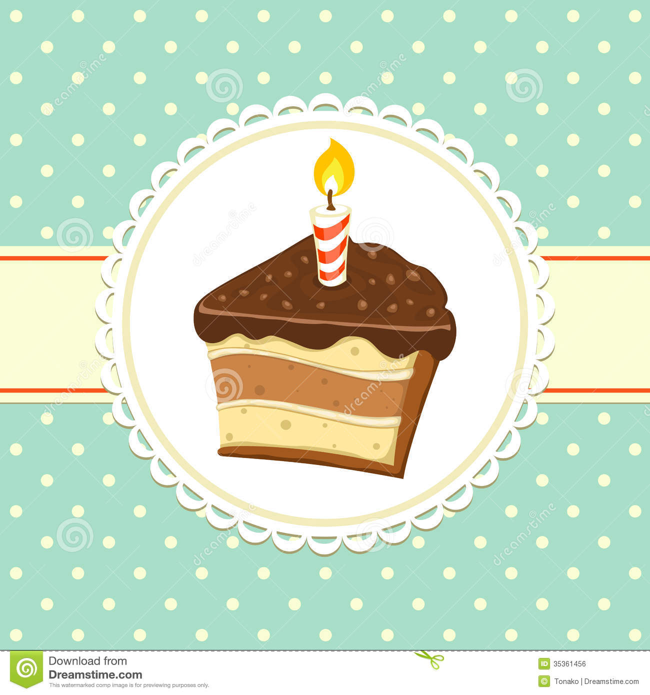 Piece Of Cake Royalty Free Stock Image - Image: 35361456