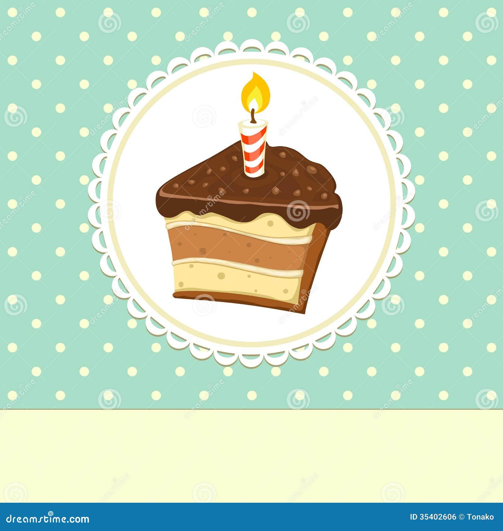 piece of cake stock vector  image of baking  cream