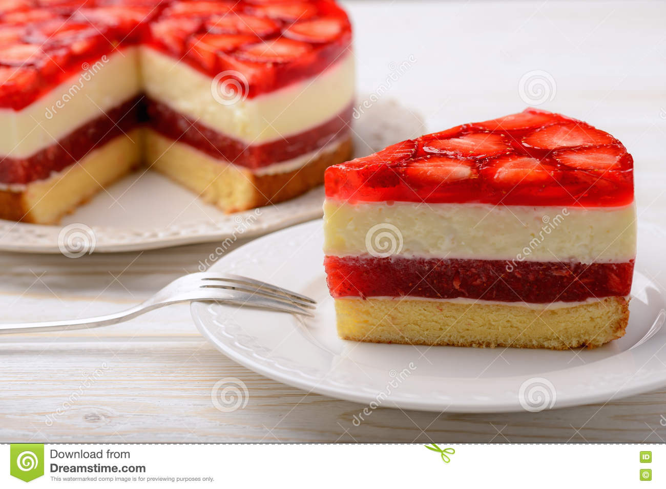 Delicious strawberry mousse 41