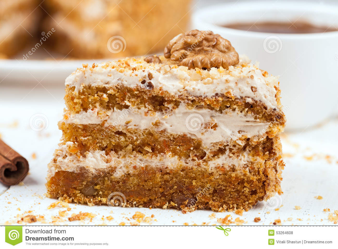 Calories In A Piece Of Carrot Cake