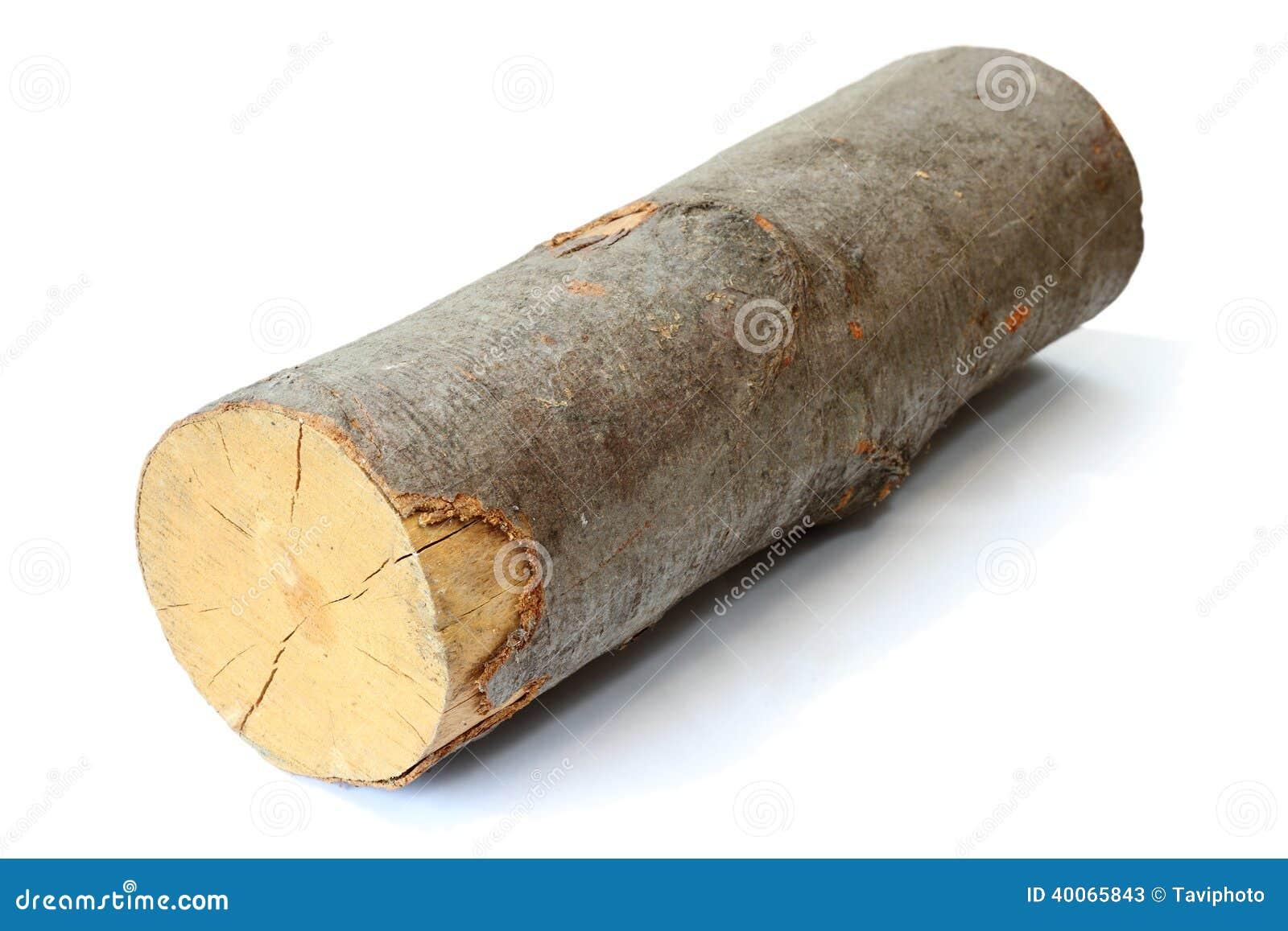 Piece of firewood stock image bark resource