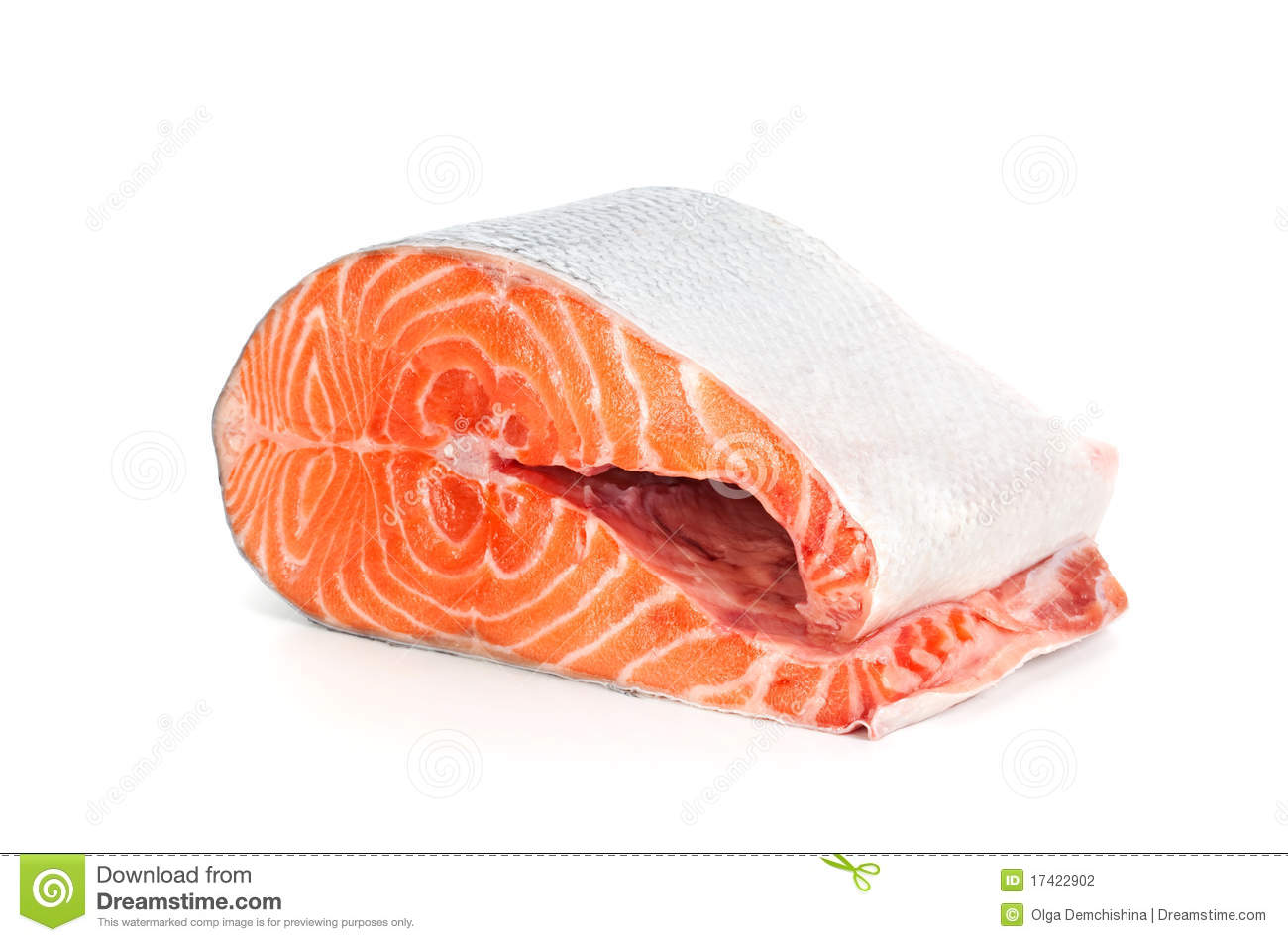 Piece of fresh salmon stock photography image 17422902 for Piece of fish