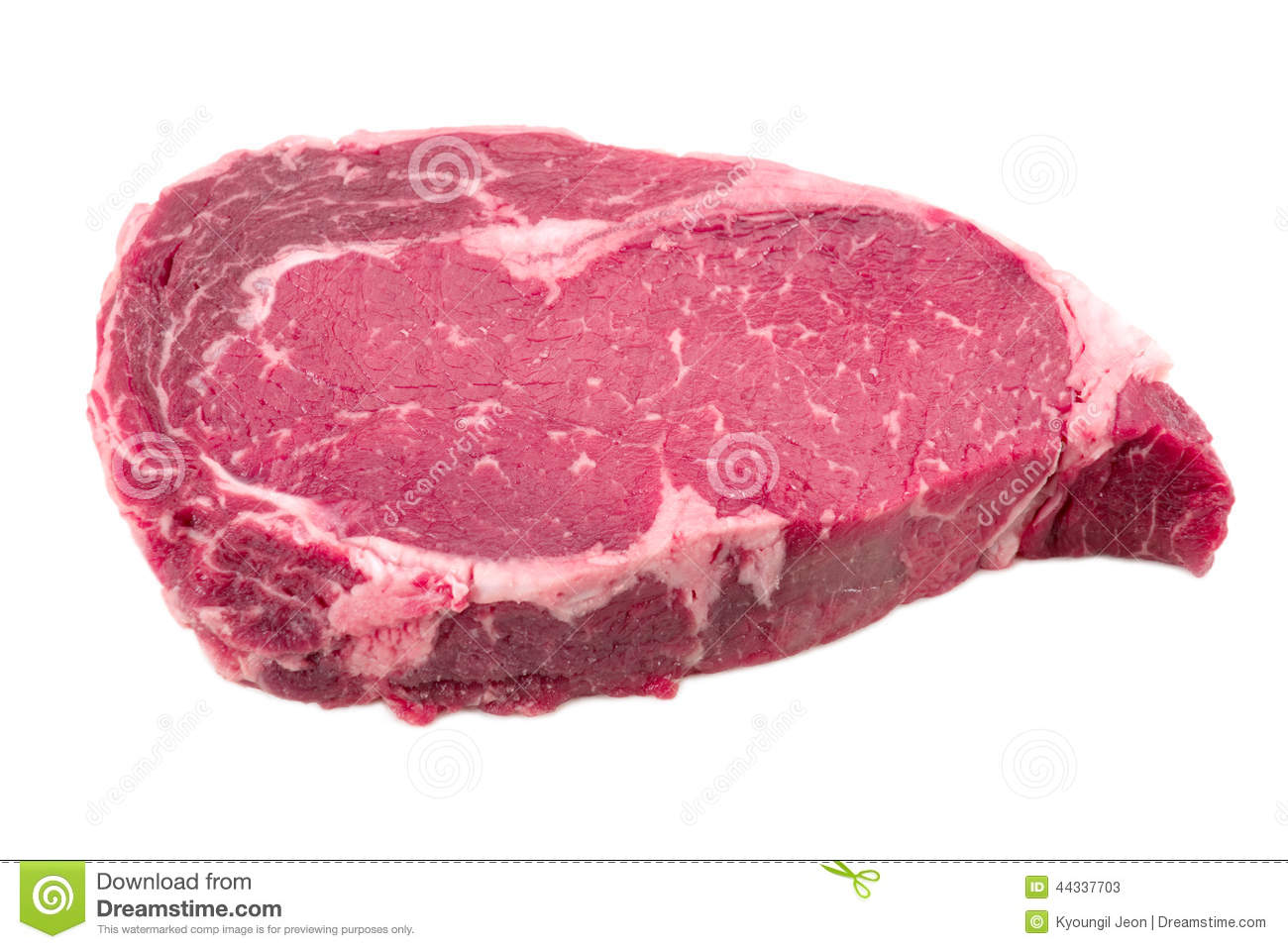 A Piece Of Meat Beef Side Stock Photo Image 44337703