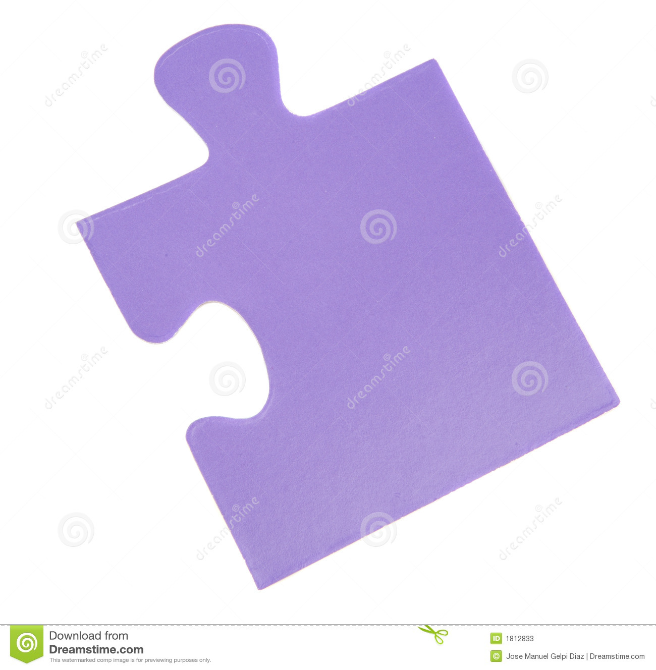 Piece Of A Puzzle Stock Photos - Image: 1812833