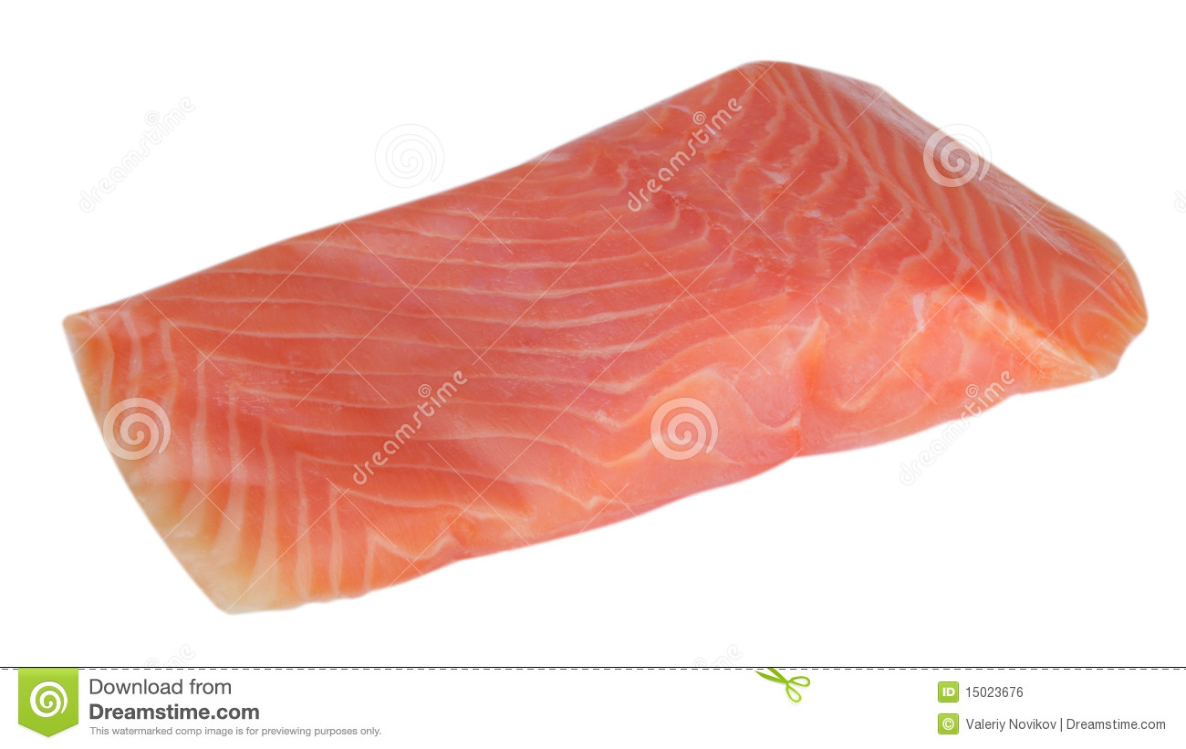 Piece of red fish fillet isolated royalty free stock image for Red fish fillet