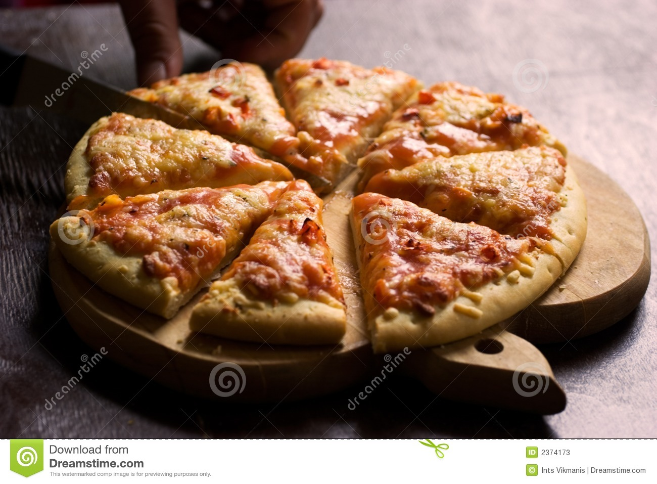 Pizza Wood Plate