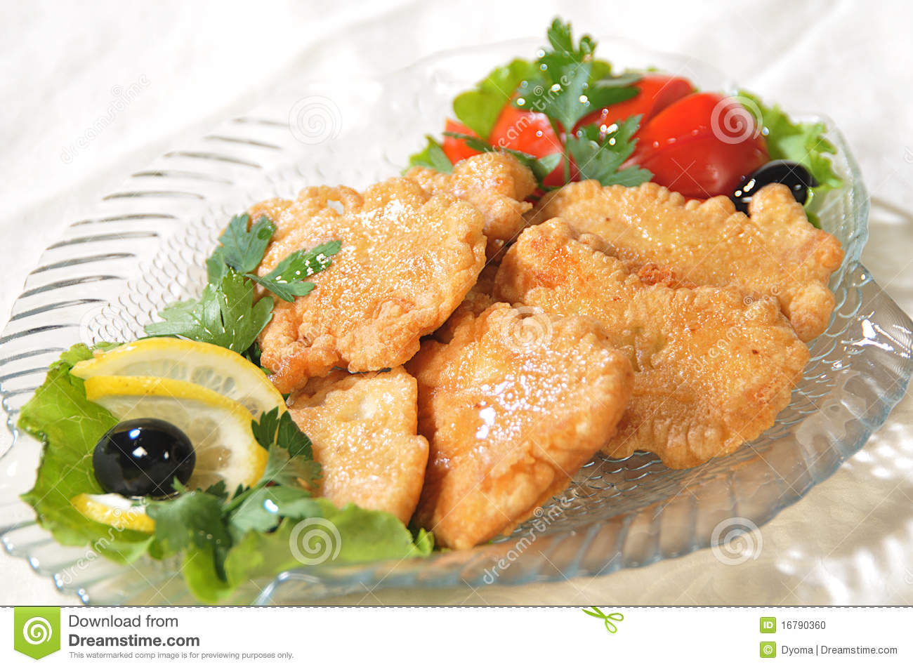 Pieces of fish filet stock photo image 16790360 for Filet of fish