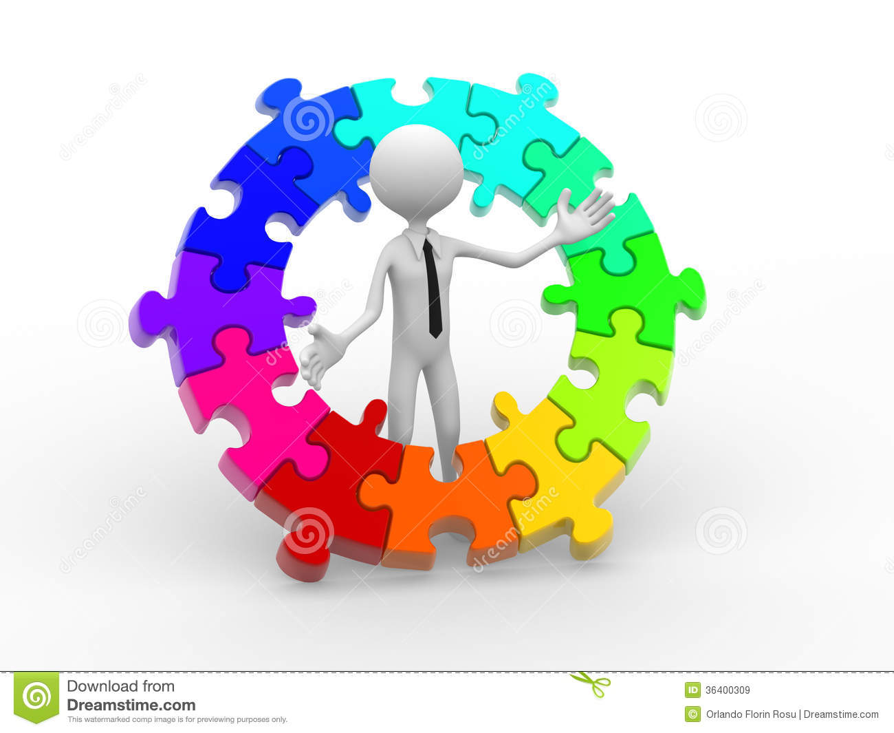 Pieces Of Puzzle Royalty Free Stock Images - Image: 36400309