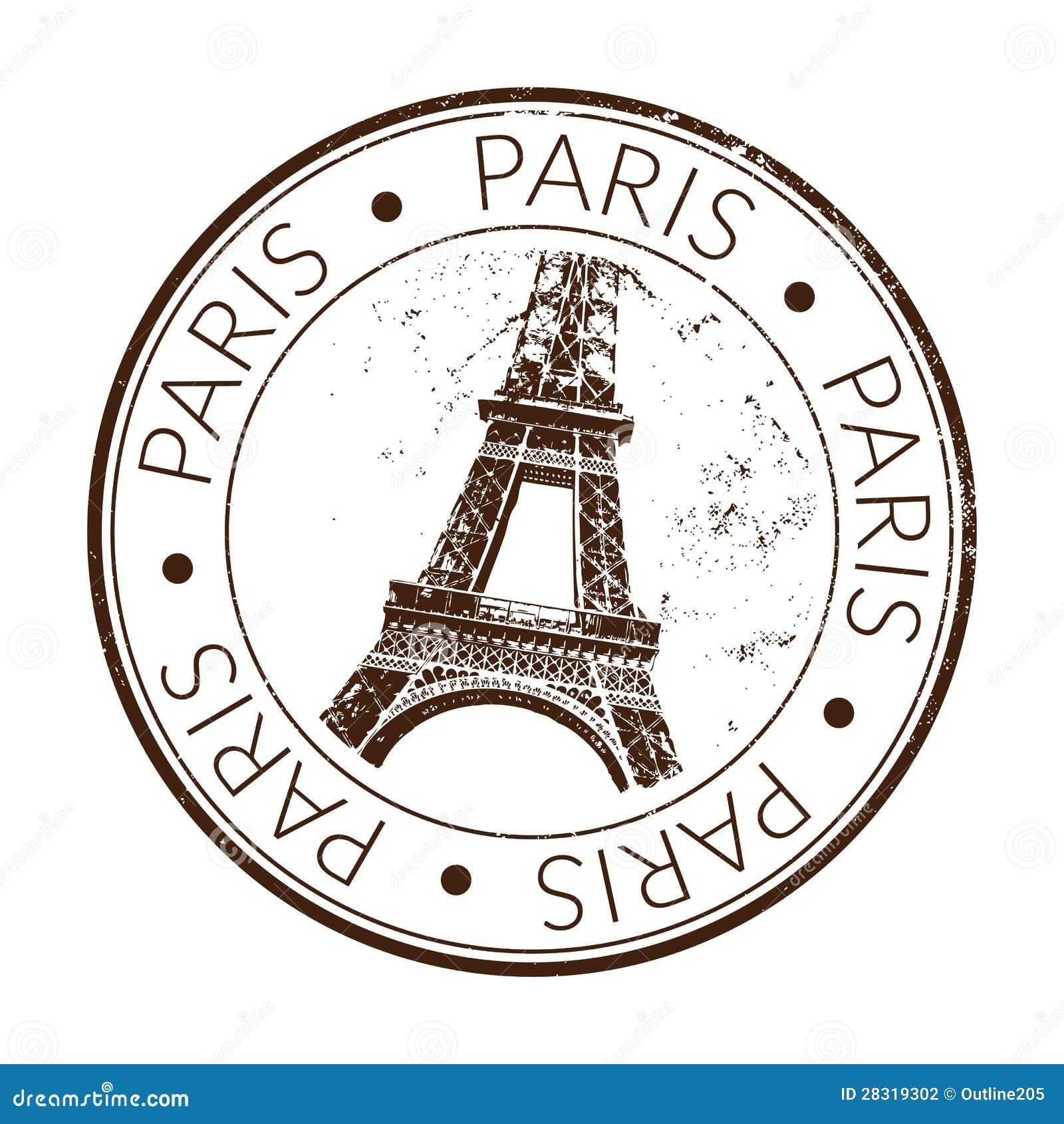 Pieczątka Paris