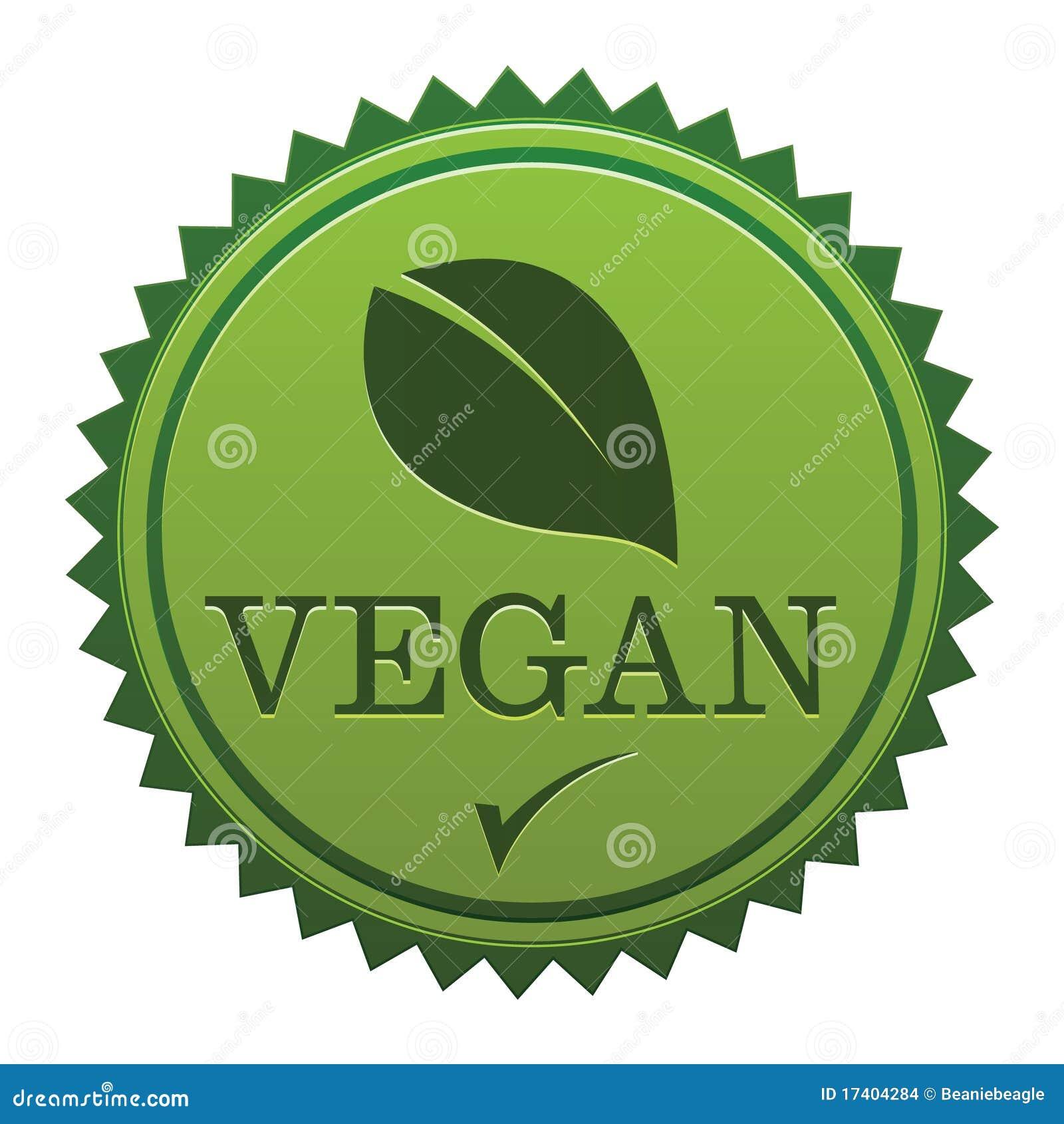 Pieczętuje weganinu