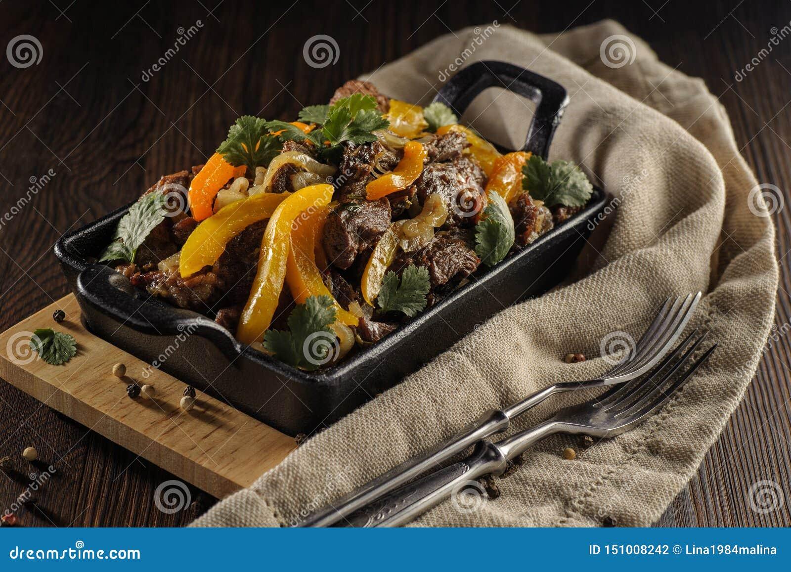 Pieczona wo?owina z warzywami