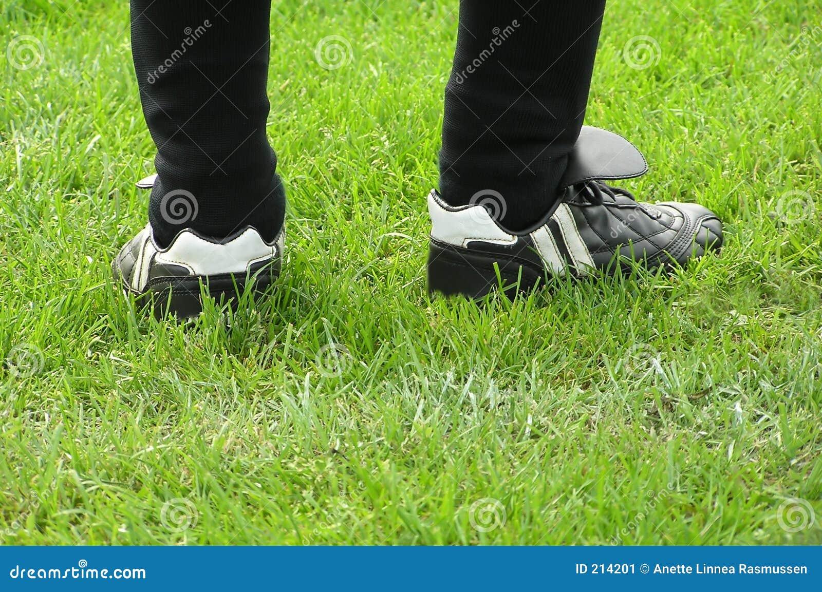 Piedini di gioco del calcio