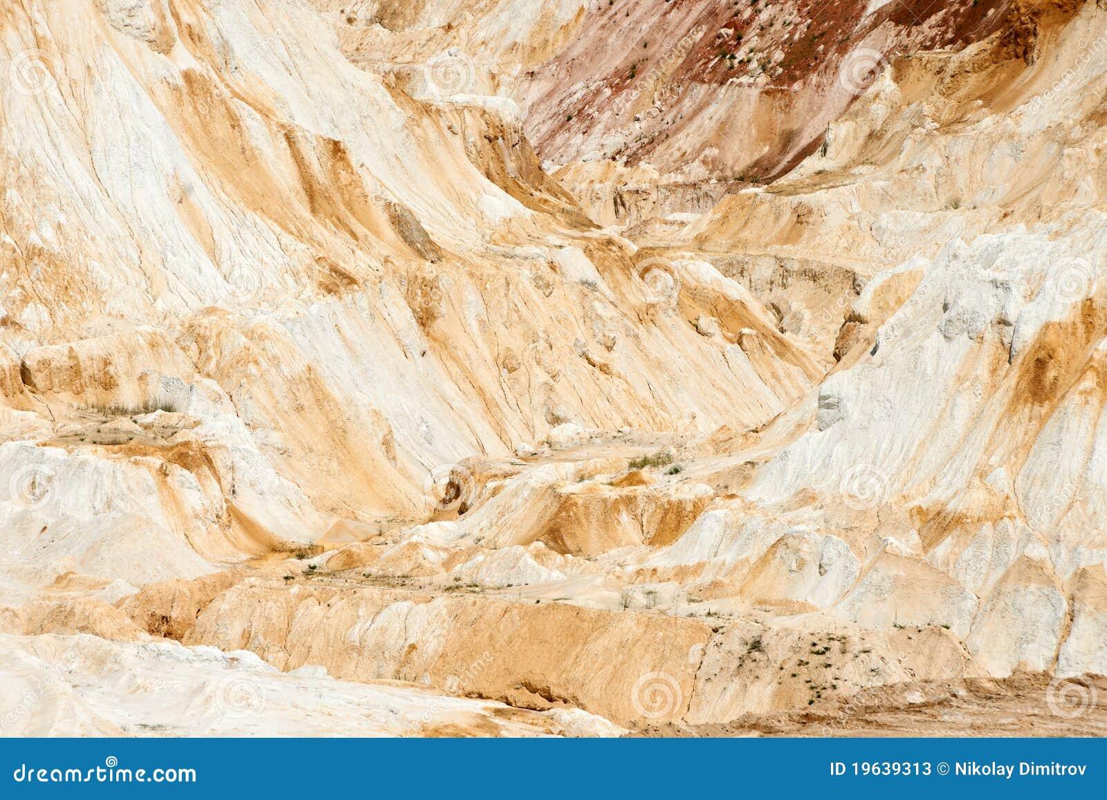 Piedra caliza blanca en una mina fotos de archivo imagen - Piedra caliza precio ...