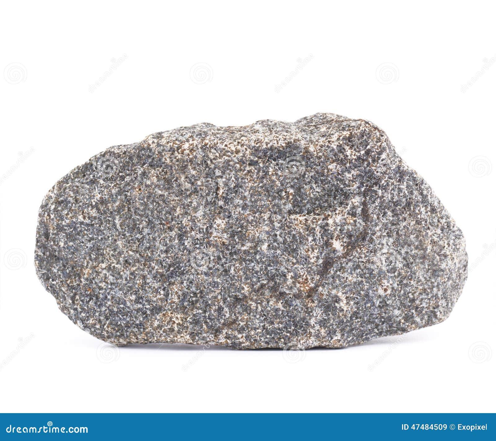 Piedra Del Granito Aislada Foto De Archivo Imagen 47484509