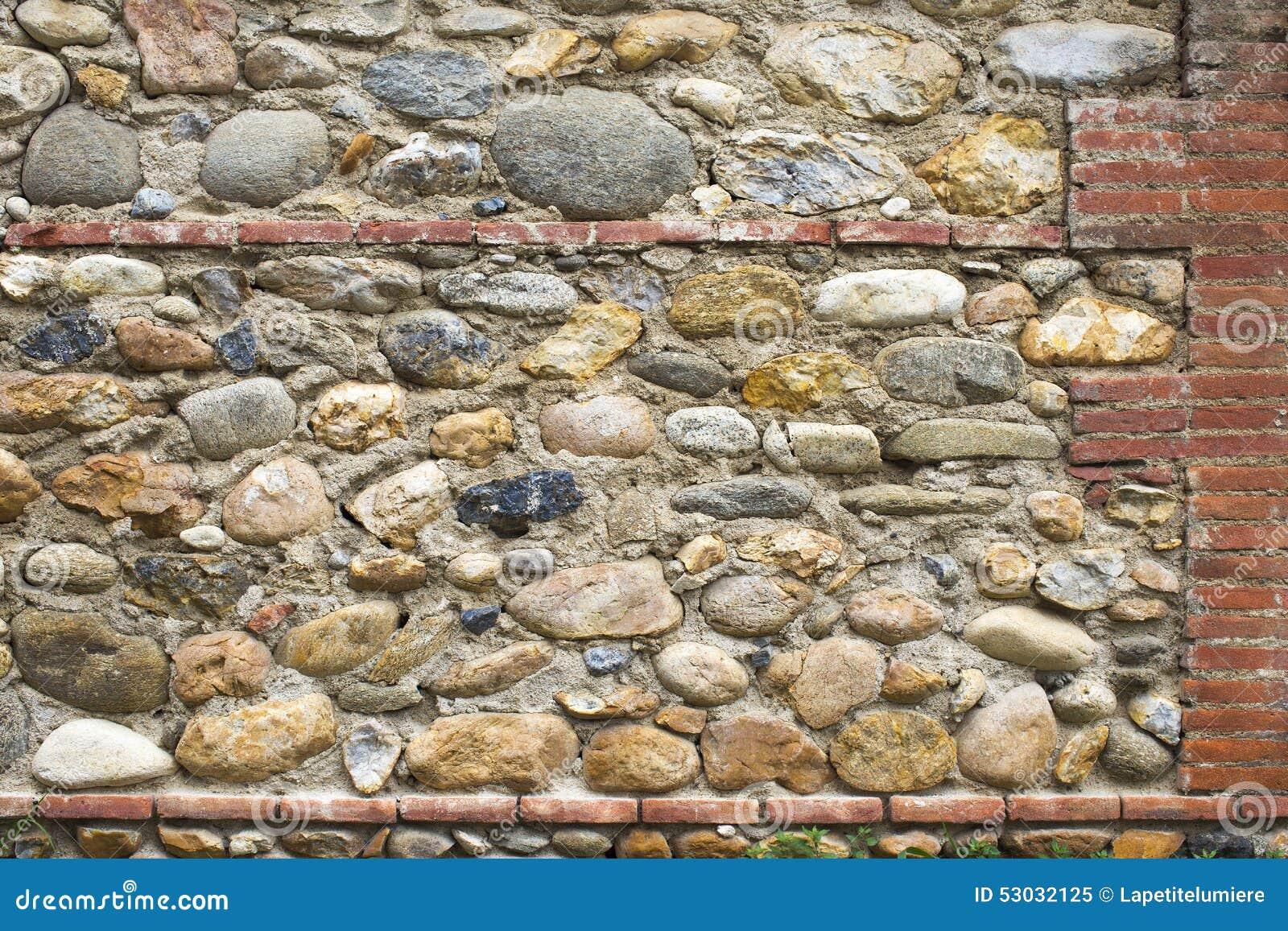 Piedra y pared de ladrillo como textura del fondo foto de - Ladrillos de piedra ...