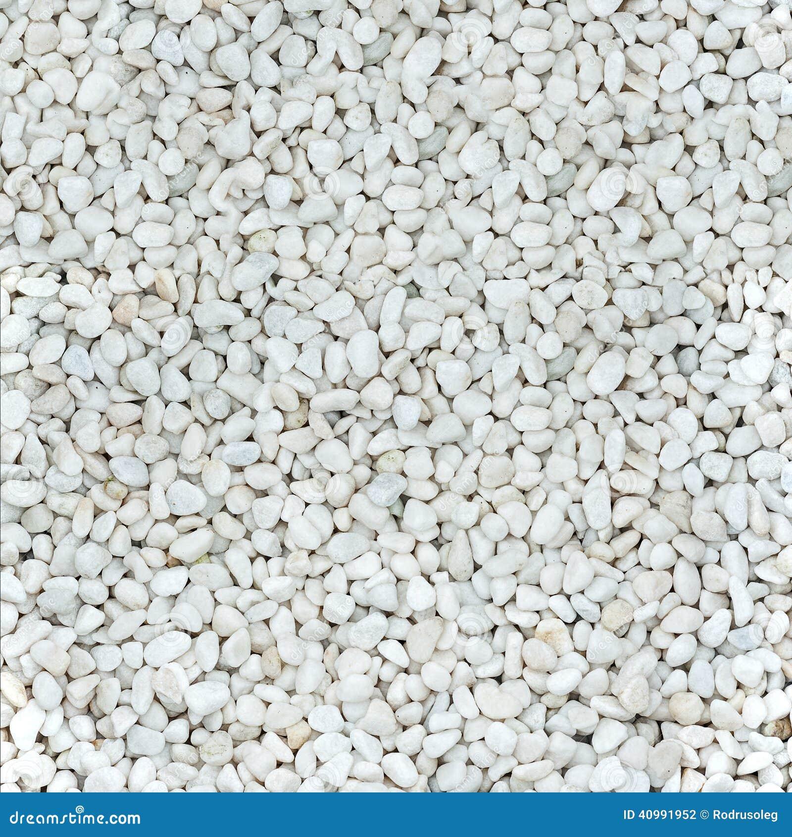 Piedras blancas naturales lisas brillantes foto de archivo - Jardin piedras blancas ...
