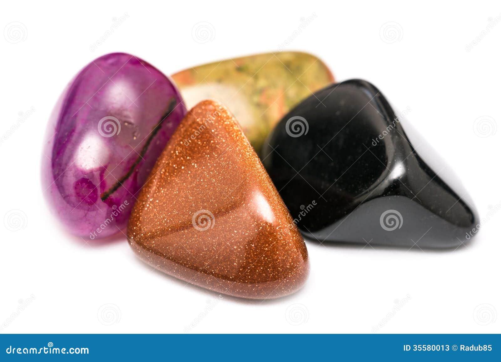 Piedras brillantes semipreciosas naturales fotos de for Piedras naturales