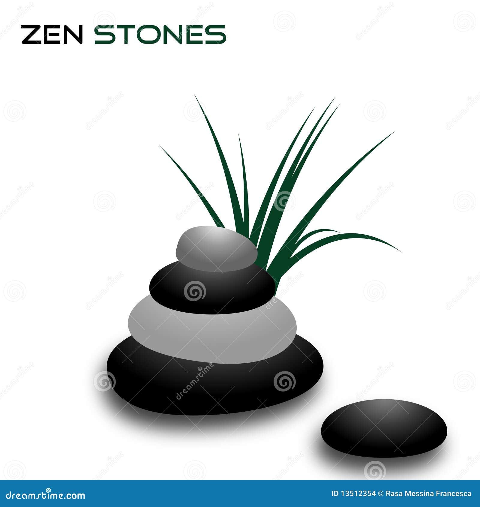 Piedras del zen