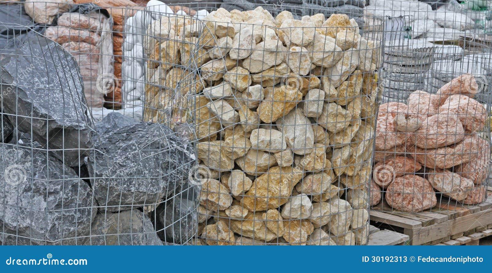Piedras para adornar los jardines para la venta en sho del material de construcci n fotos de - Venta de piedras para jardin ...