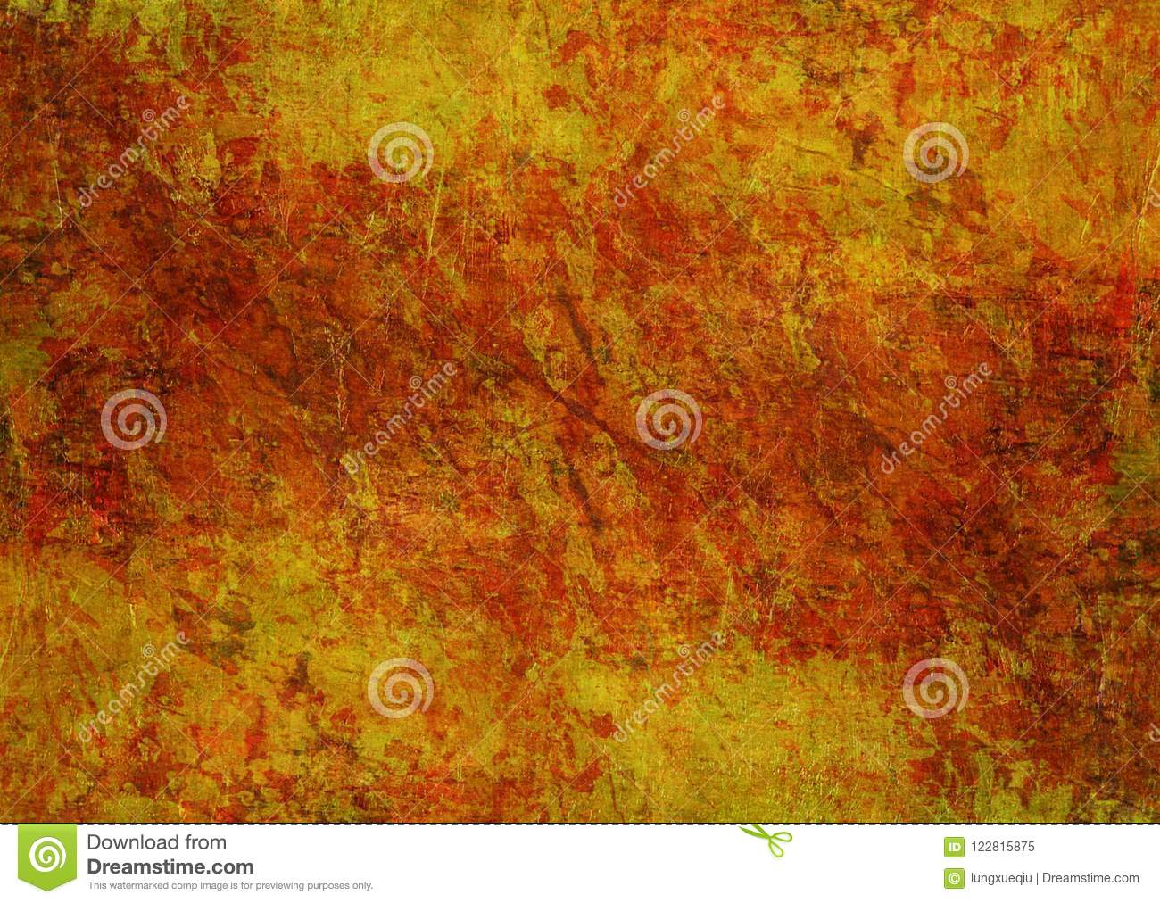 Piedras que pintan la textura oscura Autumn Background Wallpaper de Rusty Distorted Decay Old Abstract del Grunge anaranjado rojo