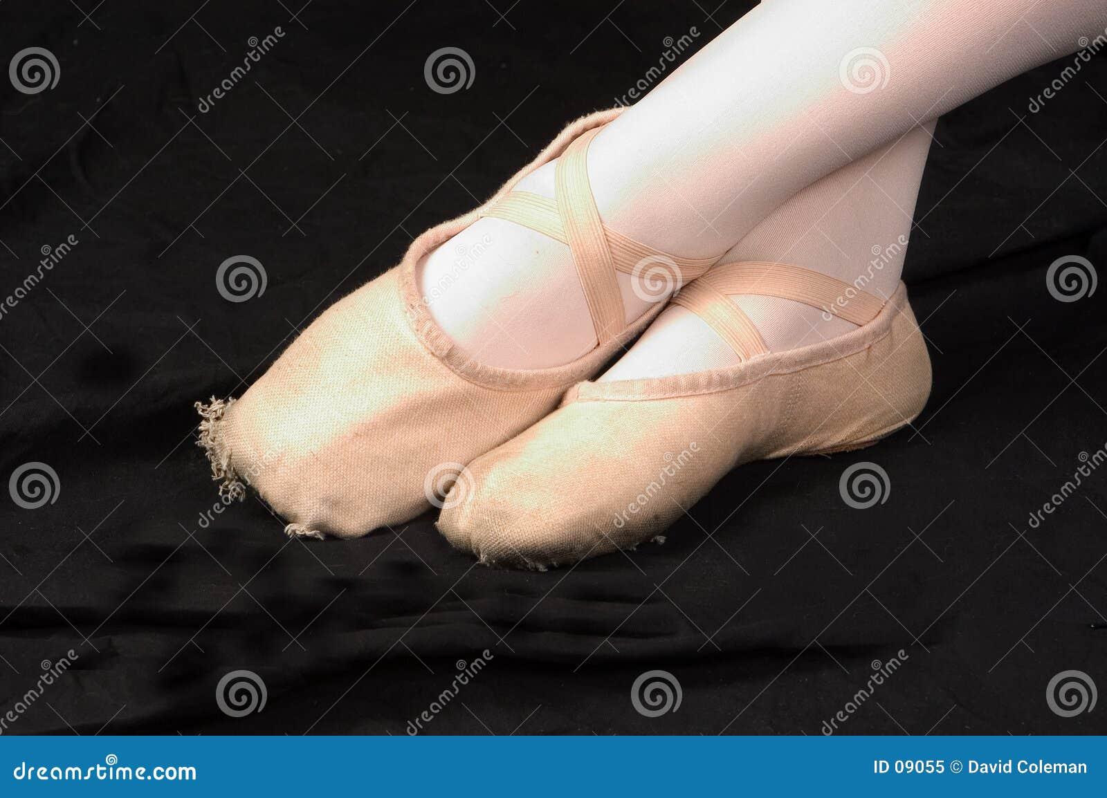 Pieds de ballet