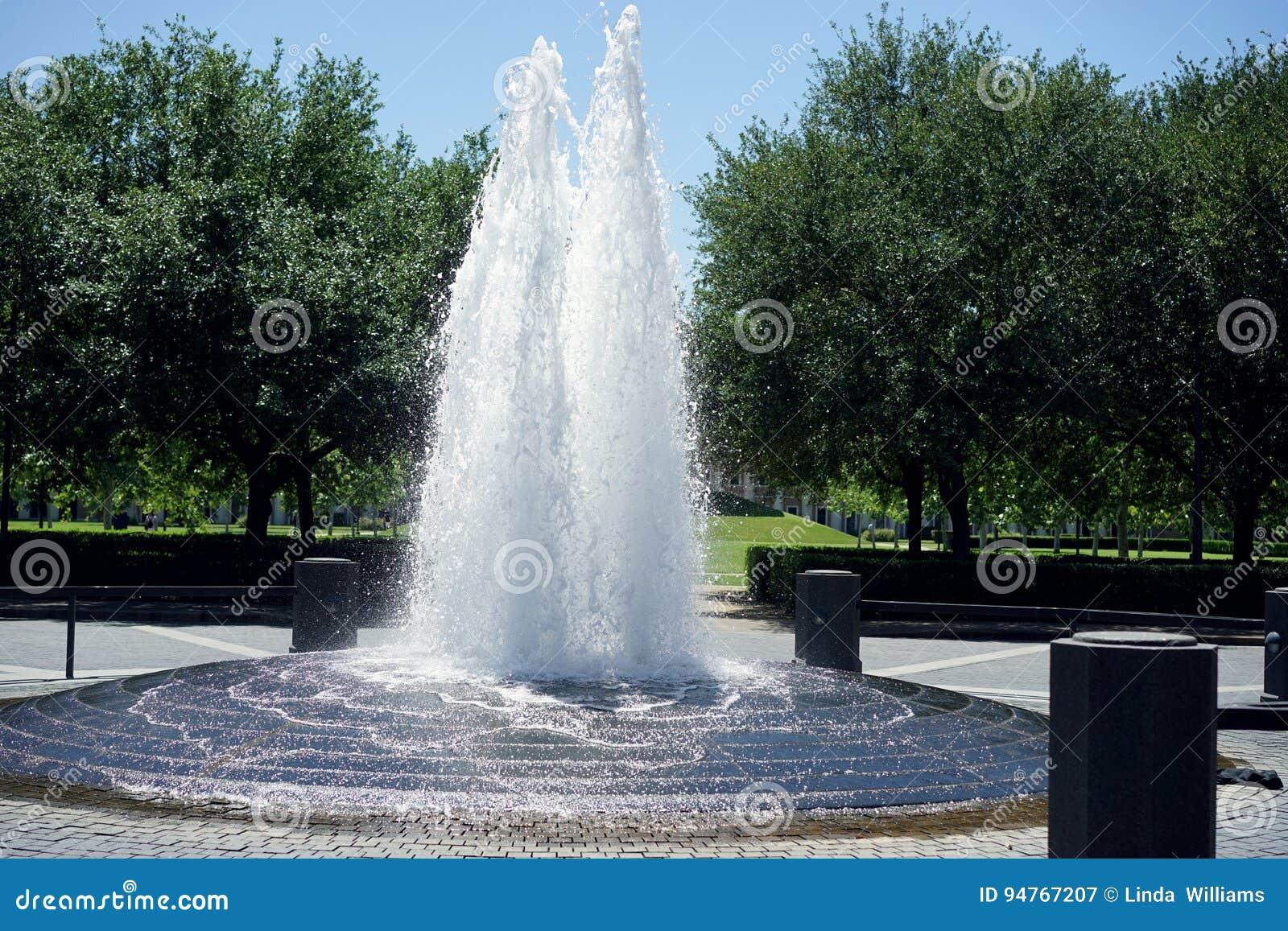 Pieken van borrelend water