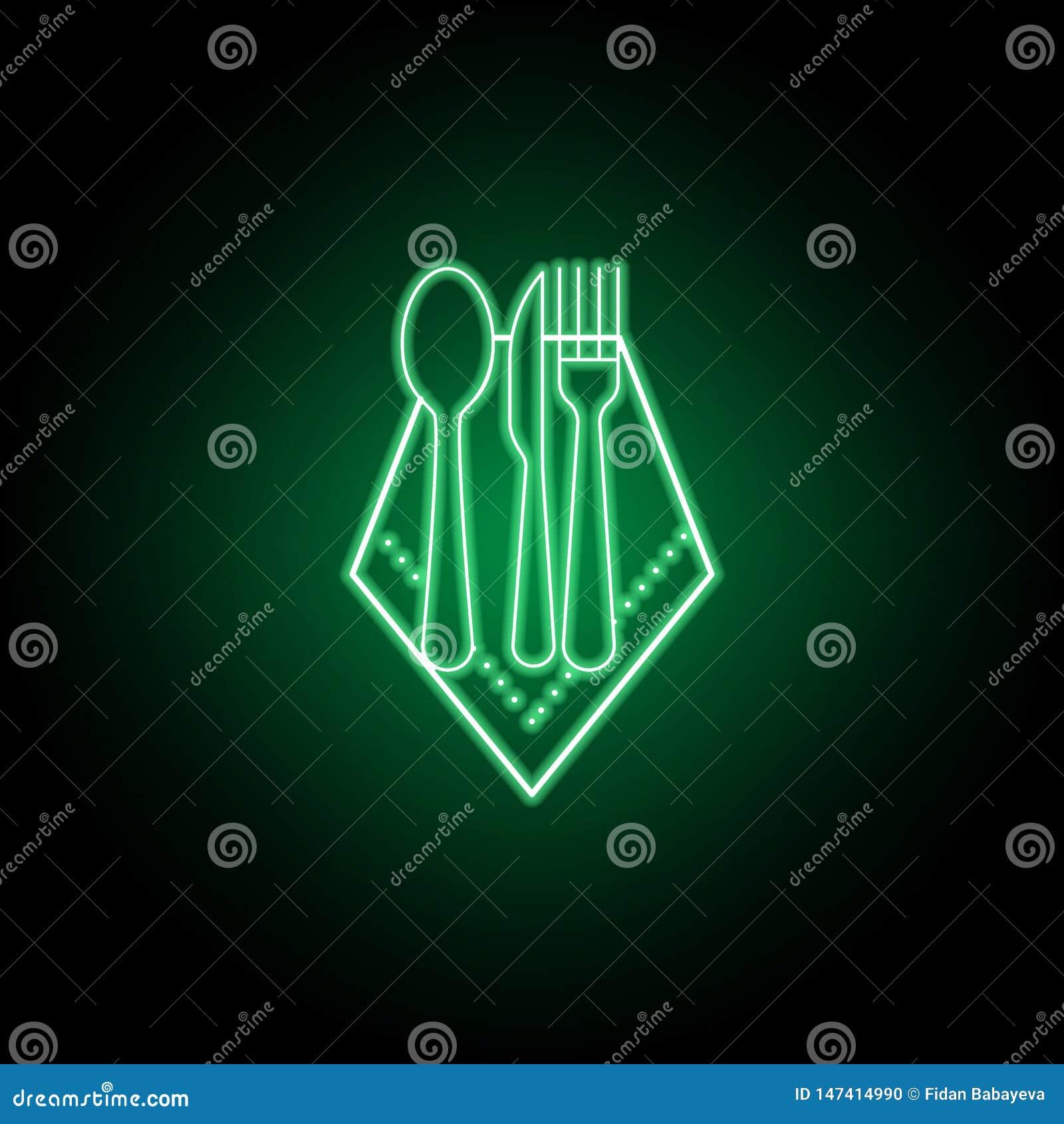 Pieluchy, łyżki, noża i rozwidlenia ikona, Mo?e u?ywa? dla sieci, logo, mobilny app, UI UX