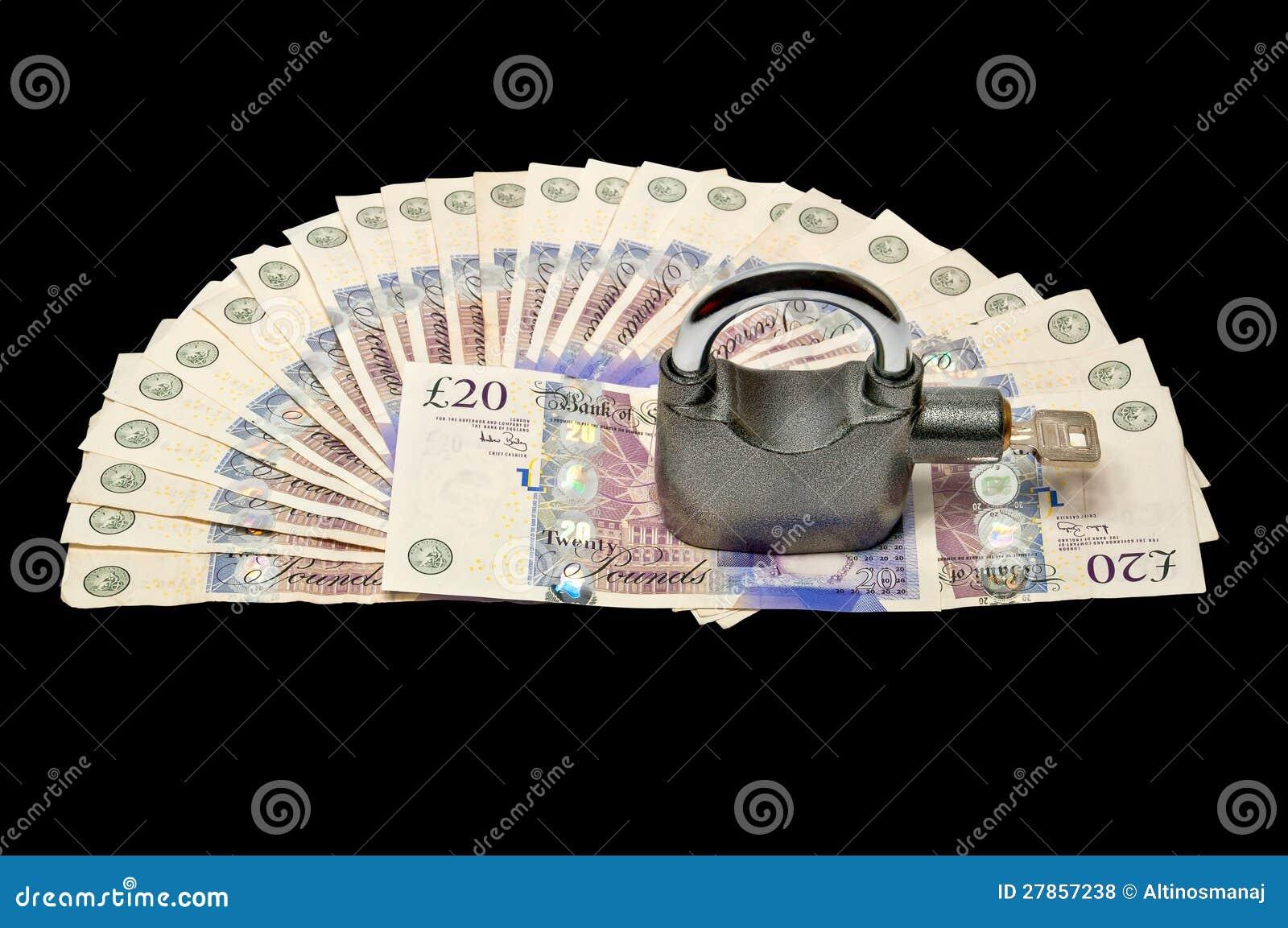 Pieniądze i kłódka - zbawczy pojęcie 02 |