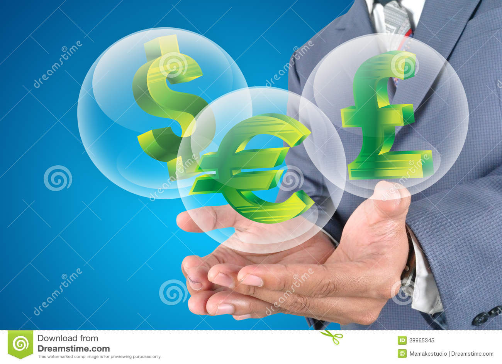 Pieniądze ikony dla biznesu finanse