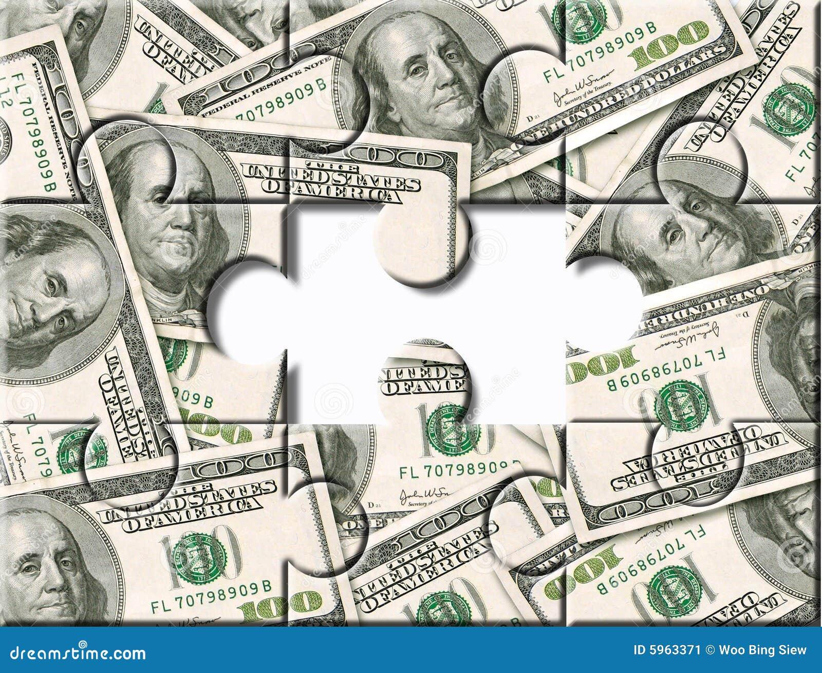 Pieniądze inwestycyjna układanki