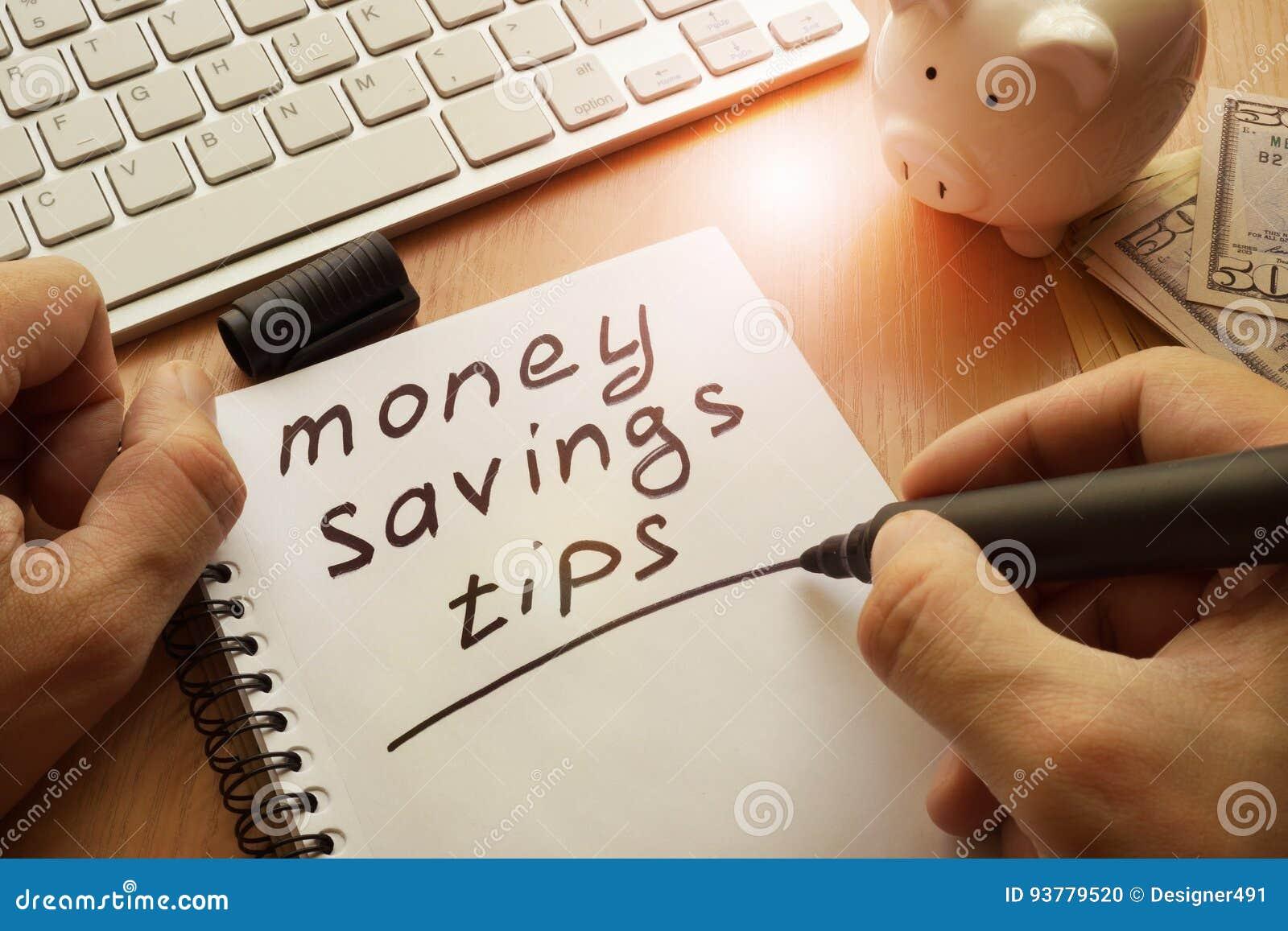 Pieniądze oszczędzania porady