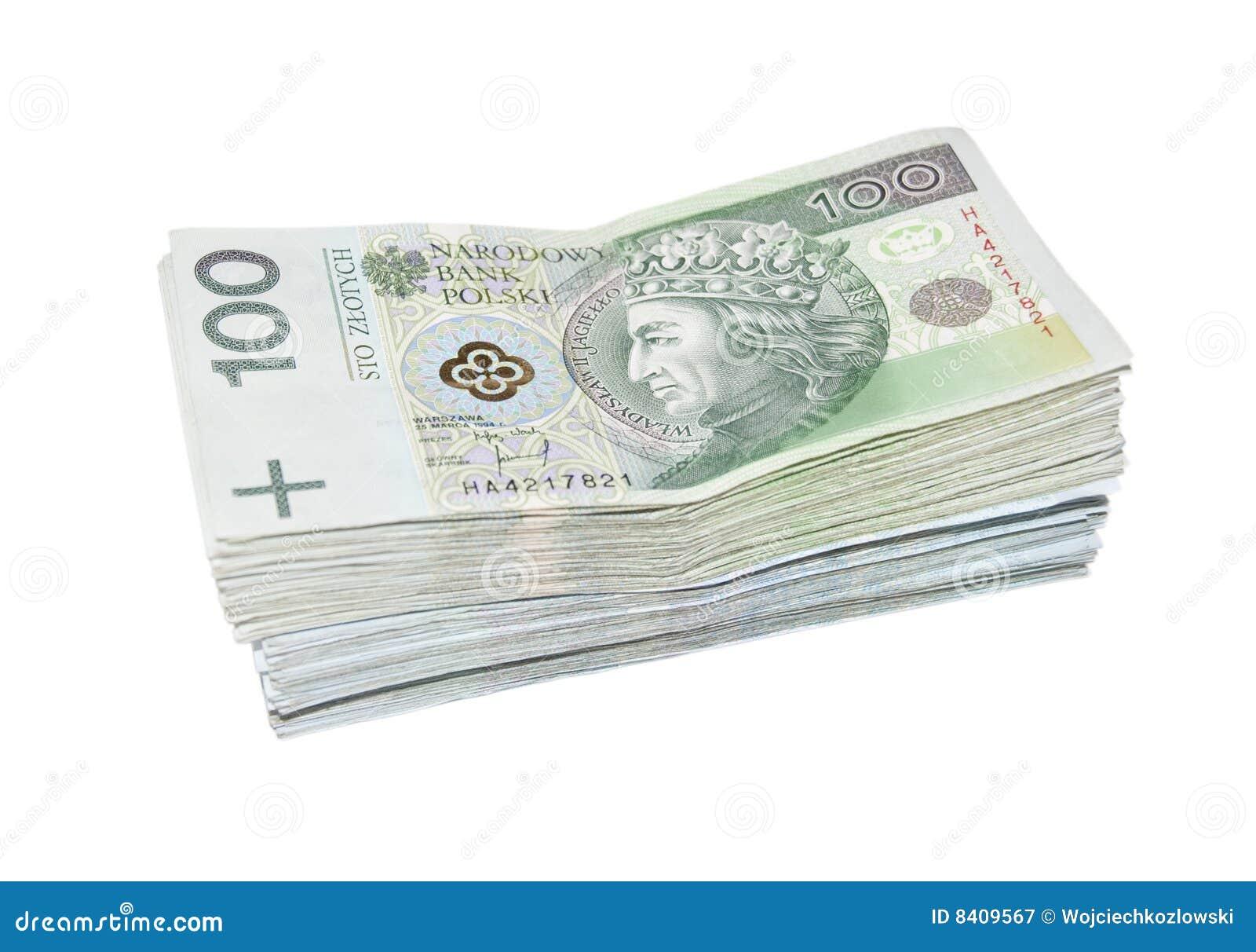 Pieniądze połysk