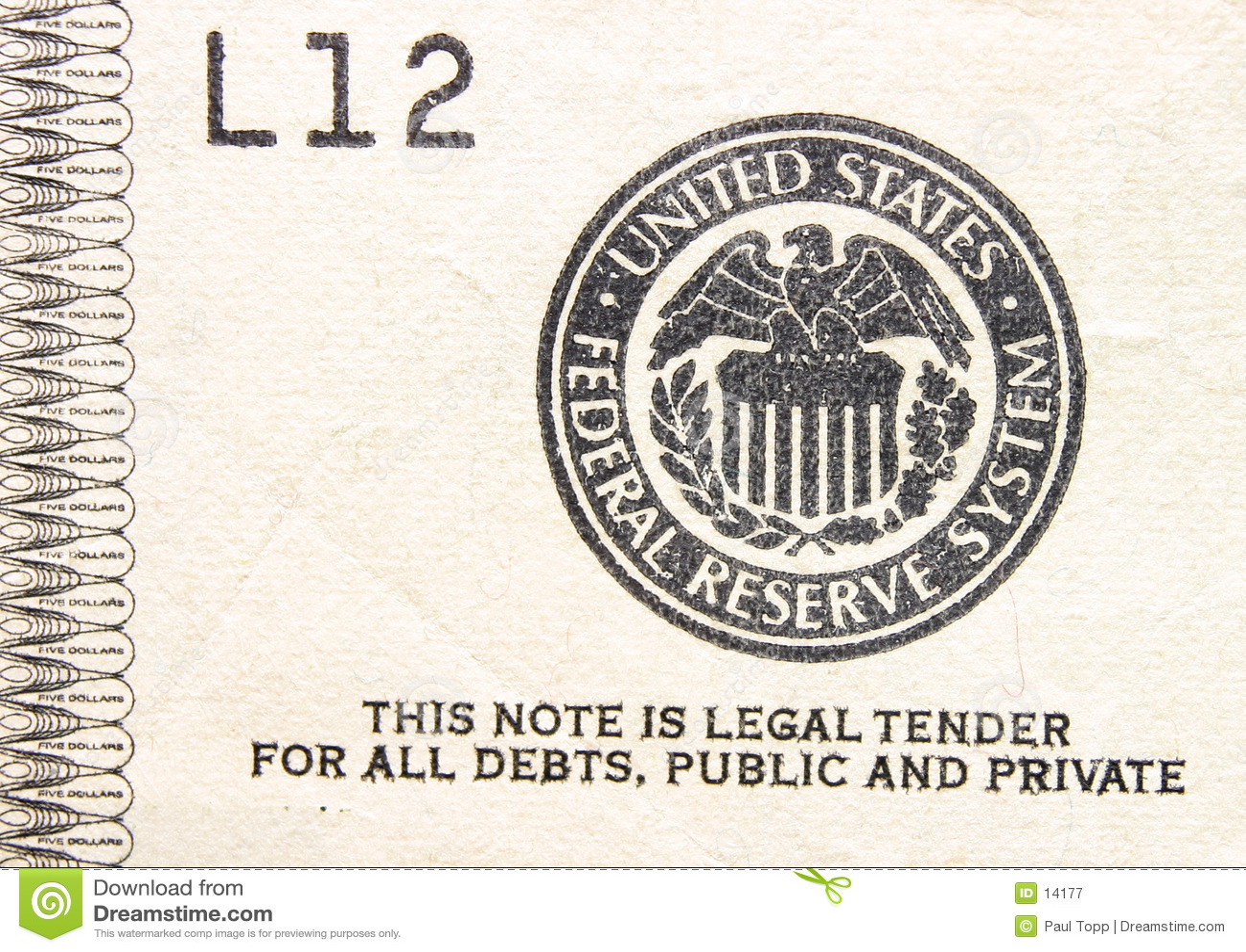 Pieniądze prawna stempla przetargu