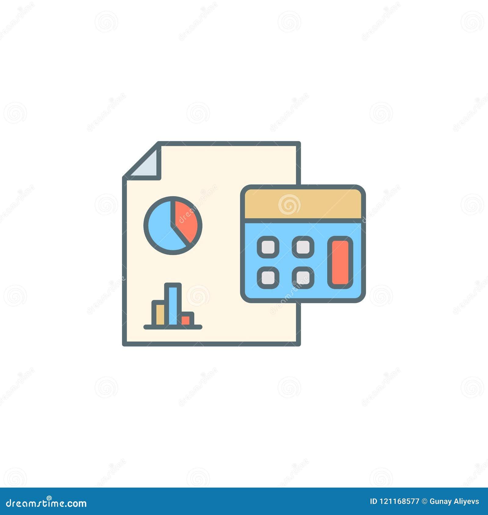 Pieniężna raportowa półmroku stylu linii ikona Element bankowości ikona dla mobilnych pojęcia i sieci apps Półmrok stylowa pienię
