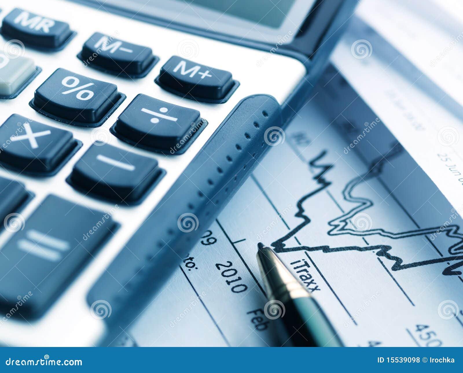 Pieniężny kalkulatora raport