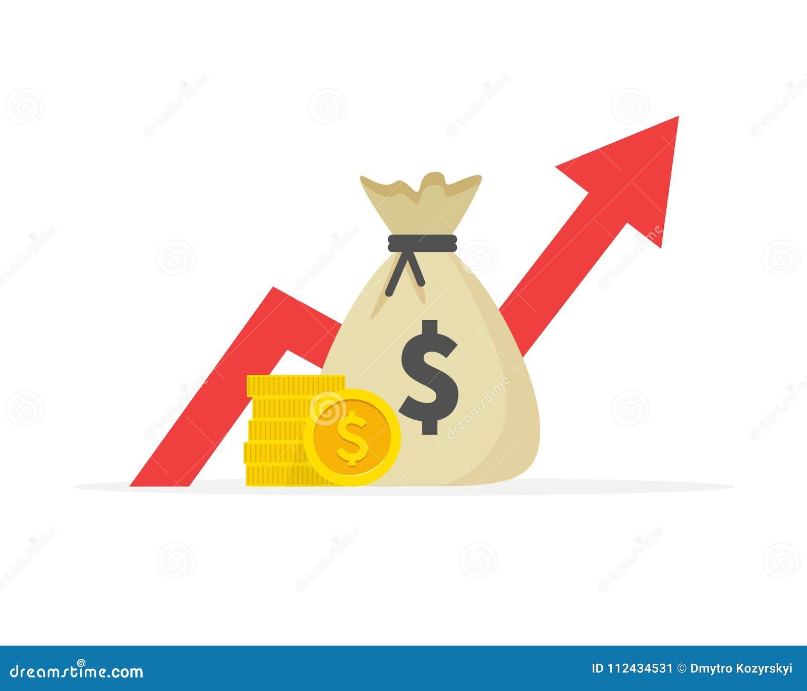 Pieniężny występ, dolarowa biznesowa produktywność, statystyki raport, fundusz powierniczy, wskaźnik rentowności, finanse