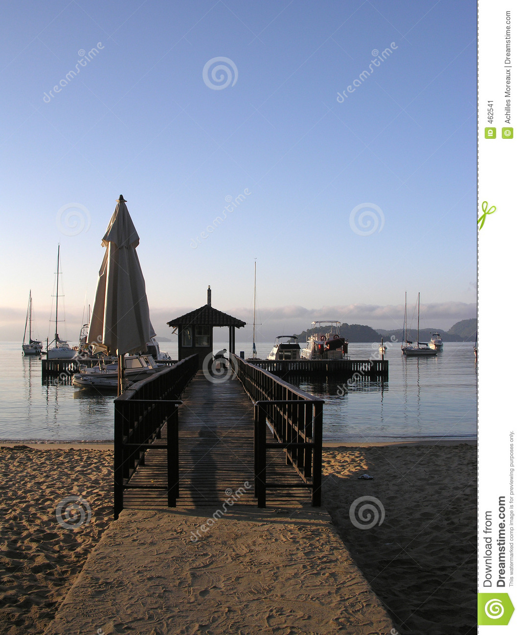 Download Pier in stock image. Image of peaceful, exotic, outdoors - 462541