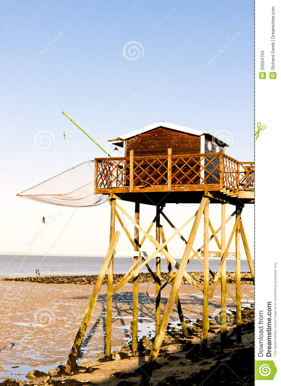 Pier with fishing net stock photos image 20004753 for Pier fishing net