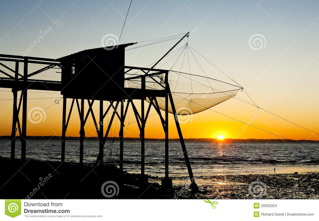 Pier with fishing net stock images image 20933324 for Pier fishing net