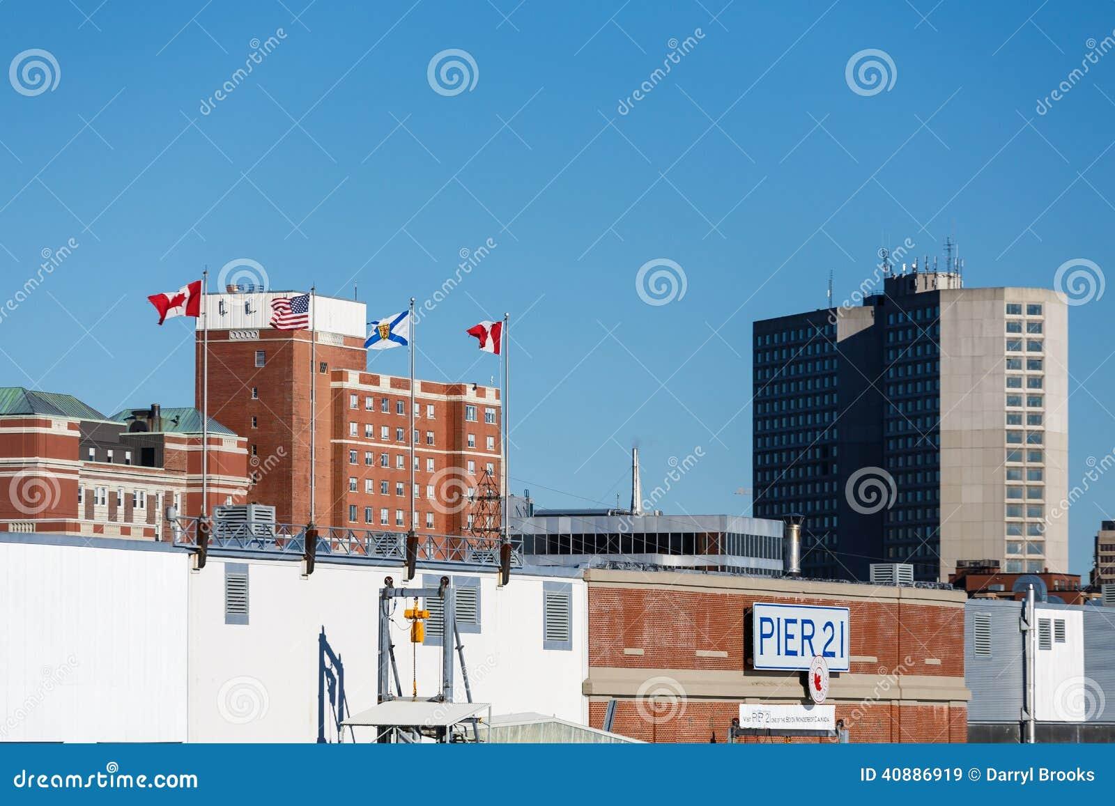 Pier 21 in Halifax