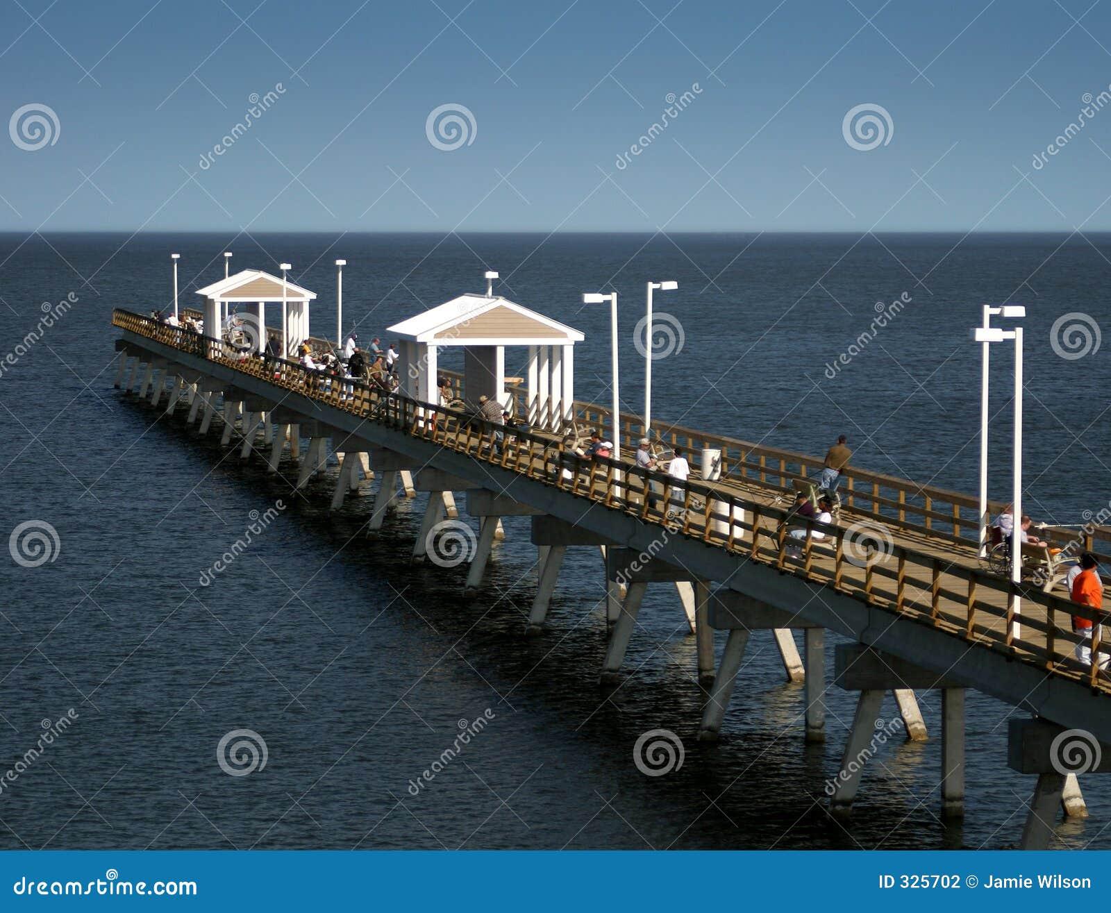 Pier połowów