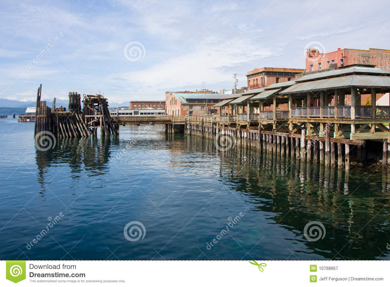 Pier at Port Townsend Washington