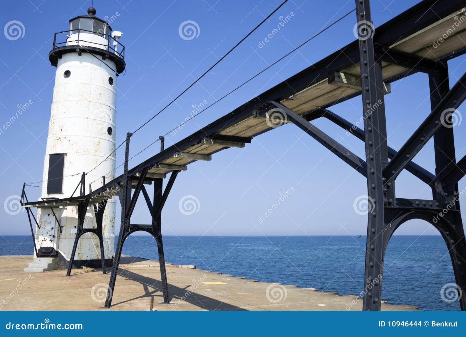 Pierhead manistee маяка северное