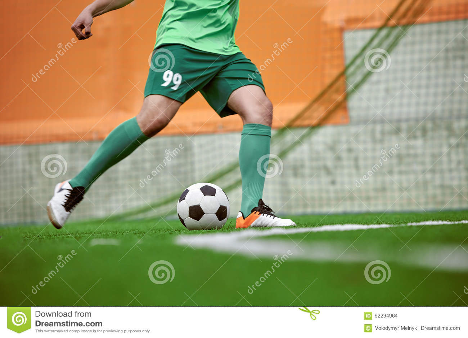 Piernas fútbol de