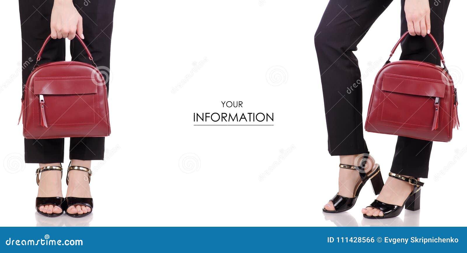 La Femeninas Negros En Zapatos Piernas De De Laca Los Pantalones HXwdZwWx